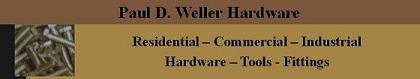 LOGO_Paul D Weller Hardware 1