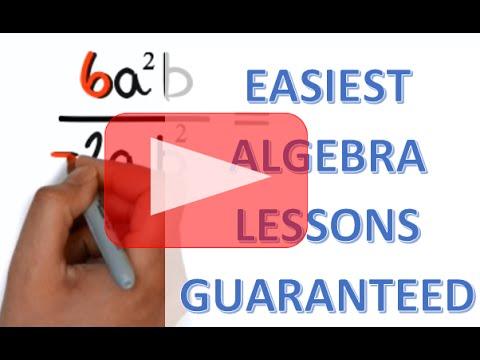 algebra lessons